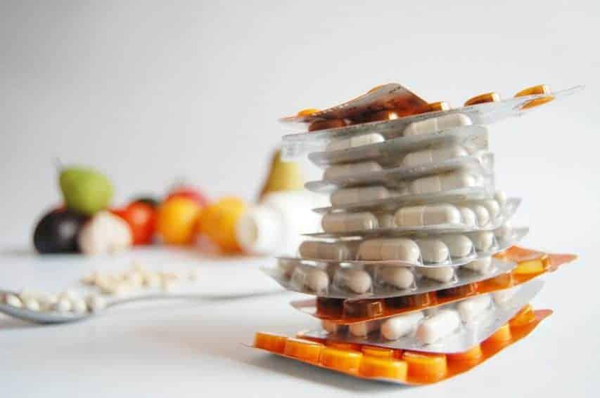 medicamentos e vitaminas