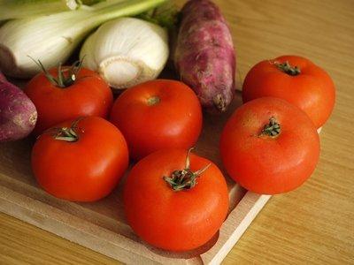 Tábua com legumes