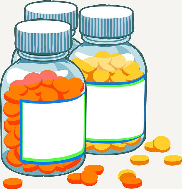 Frascos de medicamentos - condroitina
